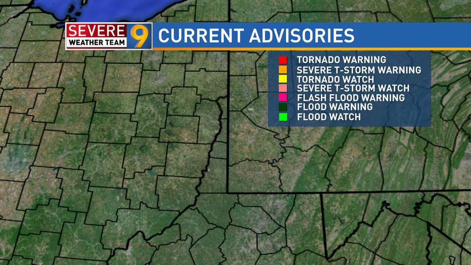 9 News Weather Map.Steubenville Weather News Weather Sports Breaking News Wtov