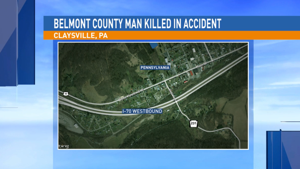 Accident on I-70 in Pennsylvania leaves Belmont County man