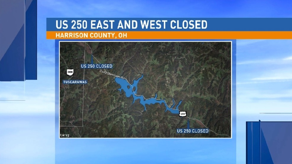 Us 250 Closed Near Tappan Lake After Multiple Accidents Wtov