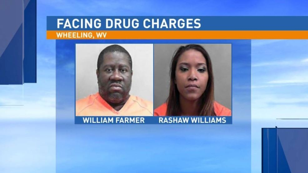 Two arrested on drug charges after traffic stop in Wheeling | WTOV